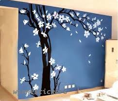 Large SizeVinyl Wall Decal Nature Design Tree Wall Decals Wall - Design wall decal