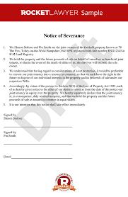 of severance severance of joint tenancy sever joint tenancy