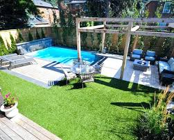 Inground Pool Landscaping Ideas Inground Pool For Small Backyard Find This Pin And More On Pool