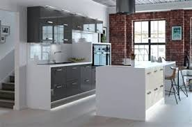 cuisine blanche mur gris collection of stunning cuisine blanche mur bleu canard contemporary