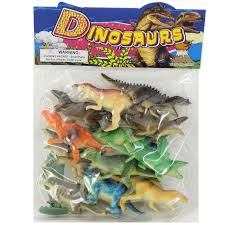 wholesale 12 dinosaur herd toys in an assortment of species