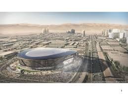 oakland raiders pitch a 1 9 billion las vegas stadium archpaper com