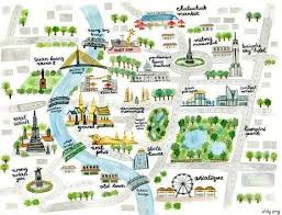 bangkok map tourist attractions the 25 best bangkok tourist map ideas on koh samui
