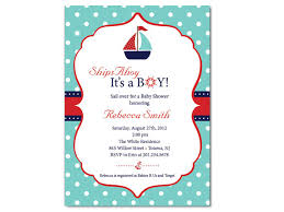 nautical baby shower invitations sailboat baby shower invitation on luulla