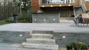 Bluestone For Patio by Three Level Patio Project For Use In Both Day And Night Paul