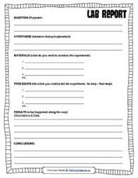 scientific report template adam s free science worksheets primary students lab report