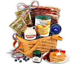 breakfast gift baskets christmas morning breakfast gift basket