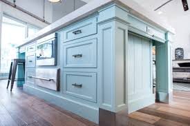 Turquoise Kitchen Island by Intracoastal Beach Home Archives Waterview Kitchens