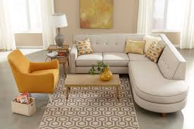 furniture modern ethan allen sectional sofas with drum shade