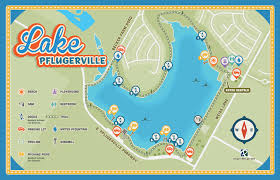 Texas Beaches Map Lake Pflugerville Park Pflugerville Parks And Recreation