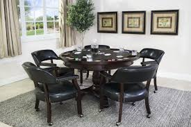 mor furniture for less the tournament game table with 5 chairs