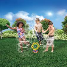 lawn sprinklers grow tropical plant