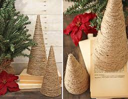 twine wrapped christmas trees live laugh rowe