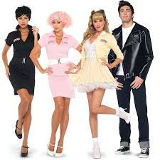 Sandy Danny Grease Halloween Costumes 9 Grease Images Grease Costumes 50s Costume