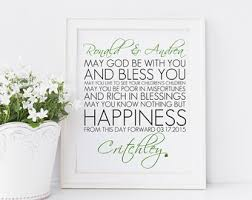 wedding blessing personalized marriage blessing printable wedding