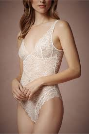 Wedding Lingerie Sale Bienvenue Bodysuit In Lingerie View All Lingerie At Bhldn