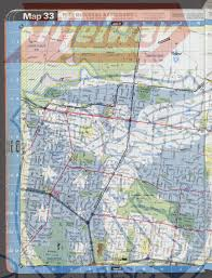 Clu Campus Map Melway Street Directory Of Greater Melbourne 1989