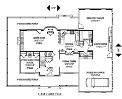 country style house plan 4 beds 2 50 baths 2583 sq ft plan 11 221