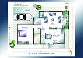 South Facing House Plans As Perstu Minimalist Design Indian For