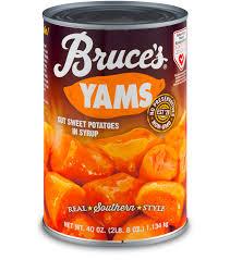 candied yams bruce s yam s