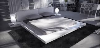 High Platform Beds Japanese Style Contemporary Platform Bed