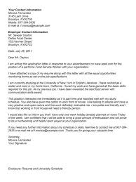 cover letter for a server position cover letter for server choice
