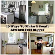 diy small kitchen ideas 10 creative ways to make a small kitchen feel larger diy cozy home