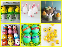 DIY Easter Crafts For Kids 25 Fun Easter Egg Decorating Ideas