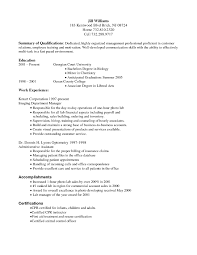 example of business resume optometry resume free resume example and writing download 81 excellent resume for work examples of resumes
