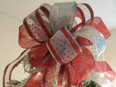 White Bows For Tree White Bow Tree Bow Topper By Greentraderllc On Etsy