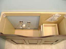 how to finish a basement bathroom vanity plumbing basement bathroom vanity cabinet plumbing rough in