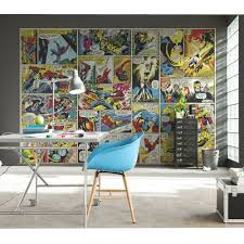 marvel comics and avengers wallpaper wall murals dEcor bedroom ebay marvel comics and avengers wallpaper wall murals decor