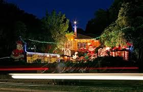 christmas lights illuminate the boulevard photos and images