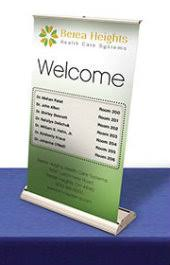 table top banners for trade shows ideal trade show tool table top banners post up stand blog