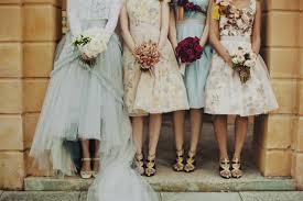 vintage style bridesmaid dresses 2017 wedding ideas magazine