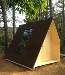 micro cabin 360 degree rotating micro cabin 002 a frame pinterest cabin