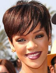 boycut hairstyle for blackwomen get hairspired with these rihanna s short hairstyles the