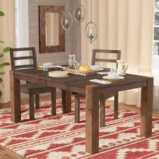 extendable dining room tables modern contemporary hairpin legs dining table allmodern