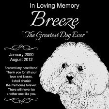 bichon frise jack russell cross temperament amazon com personalized bichon frise pet memorial 12