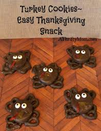 turkey cookies easy thanksgiving snacks a thrifty recipes