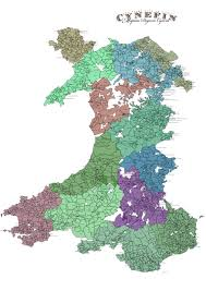 Map Of Wales Cynefin Updated Latest Map Of Wales 10 4 2017