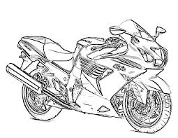 motorcycle coloring pages ninja coloringstar