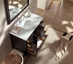 Espresso Vanity Table Ariel Cambridge 43