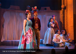 a christmas carol at the shaw festival sets the standard for