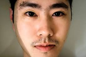 Eyebrow Piercing Without Jewelry Horizontal Eyebrow Piercing Equivocality