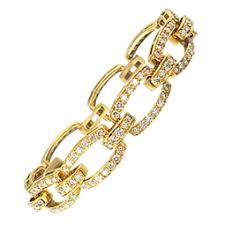 golden diamond bracelet images Facebook store jpeg