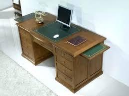 bureau de style meuble informatique bois massif petit bureau informatique en chane