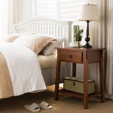 craftsman u0026 mission style nightstands and bedside tables hayneedle