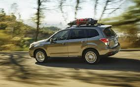orange subaru forester 2018 subaru forester vs 2018 toyota rav4 comparison review by east