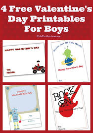 4 printable valentines for boys the kid s review